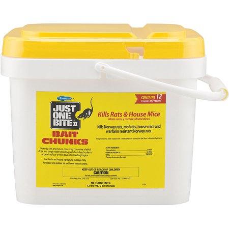 Just One Bite II Chunks Pest Control, 12-Pound