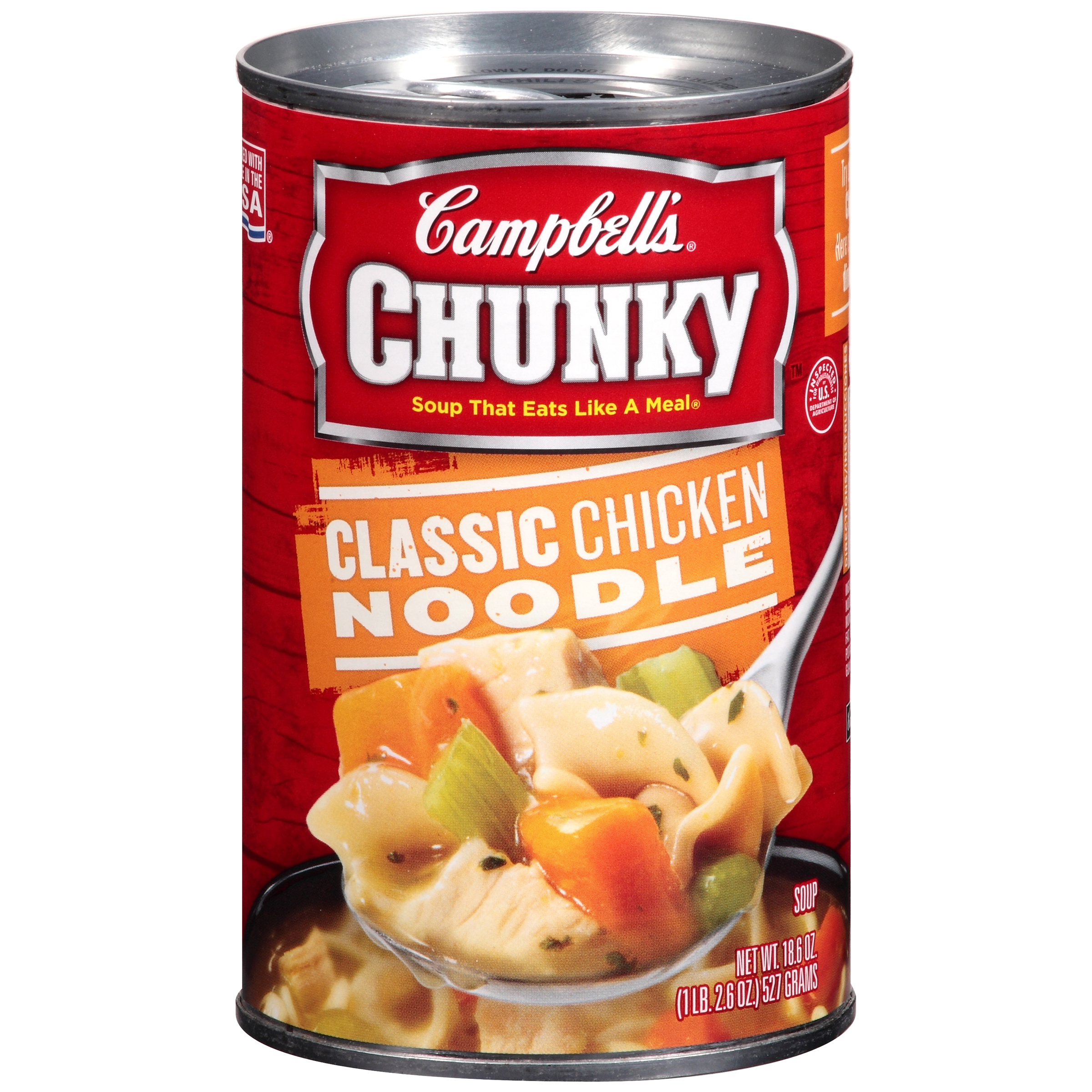 Campbells Chunky Classic Chicken Noodle Soup 18.6ozWalmart.com