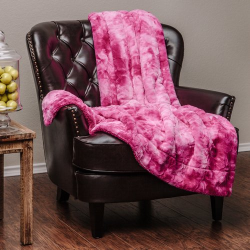 Chanasya Super Soft Fuzzy Fur Warm Cozy Sherpa Throw Blanket by Purchase Corner LLC