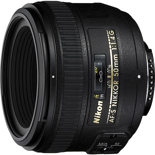 Nikon AF-S Nikkor 50mm f/1.4G Wide Angle Lens