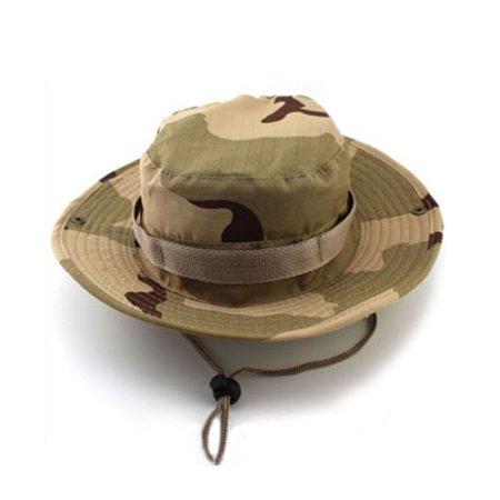 - Poly Cotton Wide Brim Digtal Camo Hat
