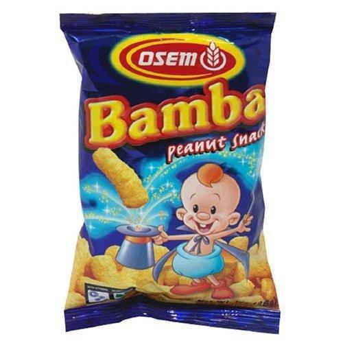 Osem Bamba Snacks, Peanut Flavored, 1 Oz (Pack of 24)