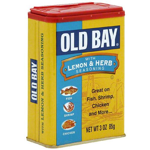 Old Bay Lemon & Herb Seasoning, 3 oz (Pack of 12)