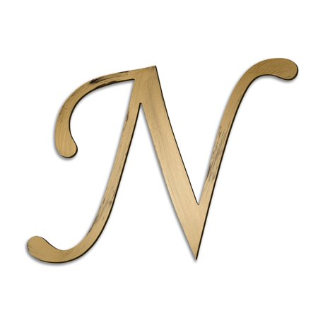 individual script letters wall decor letter n walmartcom With decor letters walmart