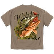 Cotton Wicked Fish Muski Graphic T-Shirt