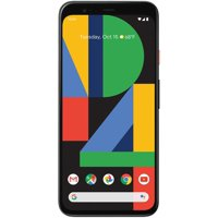 Google Pixel 4 G020M 128GB 5.7 inch Android (GSM Only, No CDMA) Factory Unlocked 4G/LTE Smartphone - International Version (Clearly White)