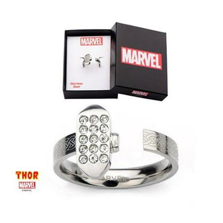 Marvel THORFR03-6 Thor Hammer Stainless Steel Ring - 6 in.](Avengers Rings)