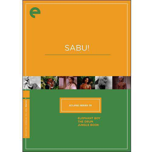 Eclipse Series 30: Sabu! Elephant Boy   The Drum   Jungle Book (Criterion Collection) by CRITERION