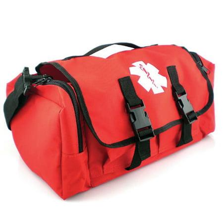 LINE2design EMS - Emergency Fire Responder Rescue Trauma First Aid Kit Bag Paramedic - Red