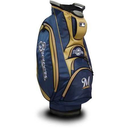 Team Golf MLB Milwaukee Brewers Victory Golf Cart Bag by