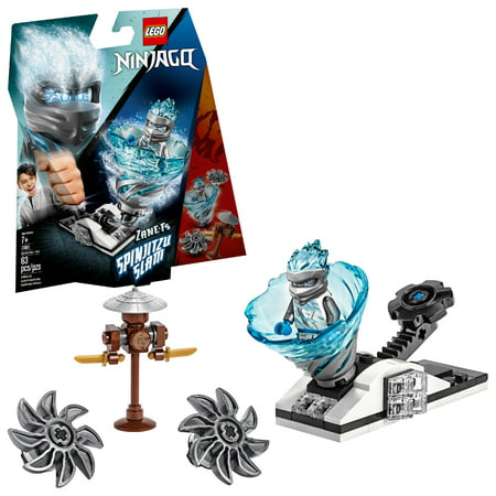 LEGO Ninjago Spinjitzu Slam - Zane 70683 Ninja Toy Building Kit (63 Pieces) (Ninja Spinjitzu)