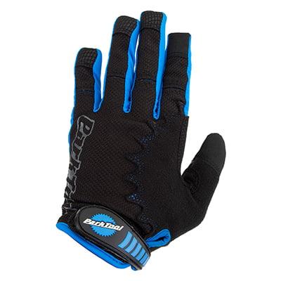 Park Mechanics Gloves Small, Black/Blue