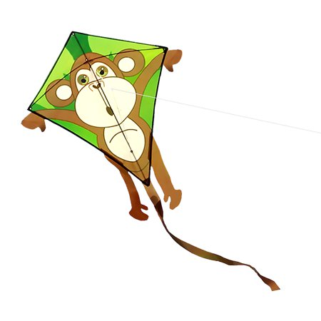 - Colorful Cartoon Monkey Kite Outdoor Sport Single Line Flying Kite with 30m Flying Line for Kids Adults