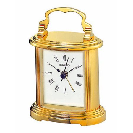 Seiko Gold Carriage Desktop Clock