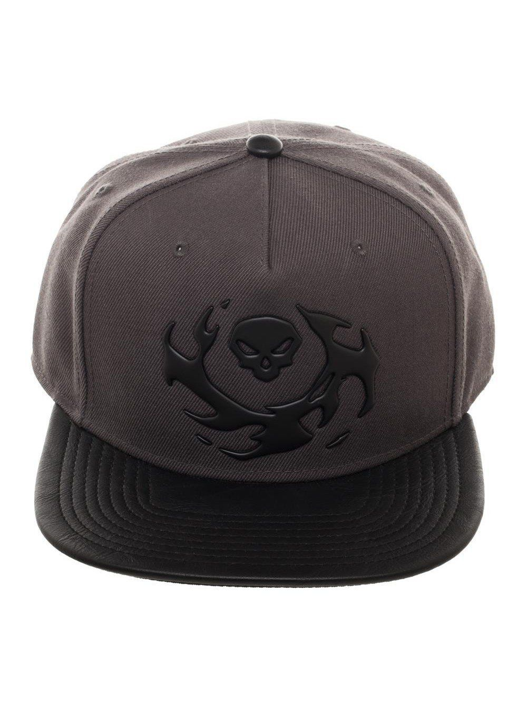 8ba4626b0af Blizzard Overwatch Snapback Video Game Grey Baseball Hat ...