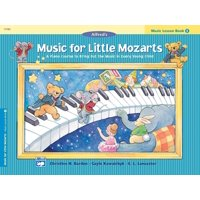 Music for Little Mozarts Music Lesson Book, Bk 3: A Piano Course to Bring Out the Music in Every Young Child (Paperback)