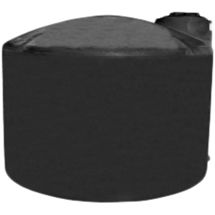 Norwesco 40631 2500 Gallon Above Ground Black Water Tank by