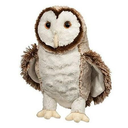 Swoop Barn Owl 10 inch - Stuffed Animal by Douglas Cuddle Toys (3842)](Stuffed Owl)