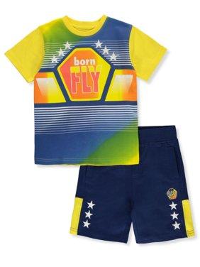 alma familia Platillo  Born Fly Boys Activewear - Walmart.com