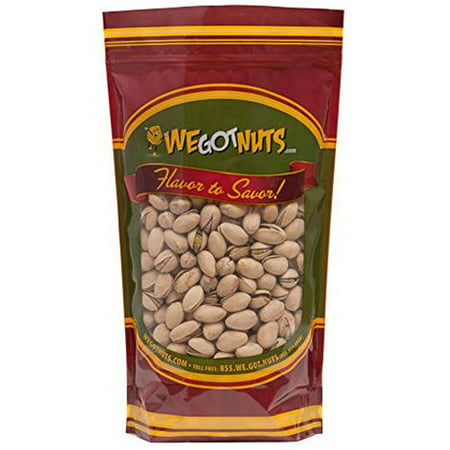 Salted California Pistachios - We Got Nuts Salted Roasted California Pistachios, 10 lbs