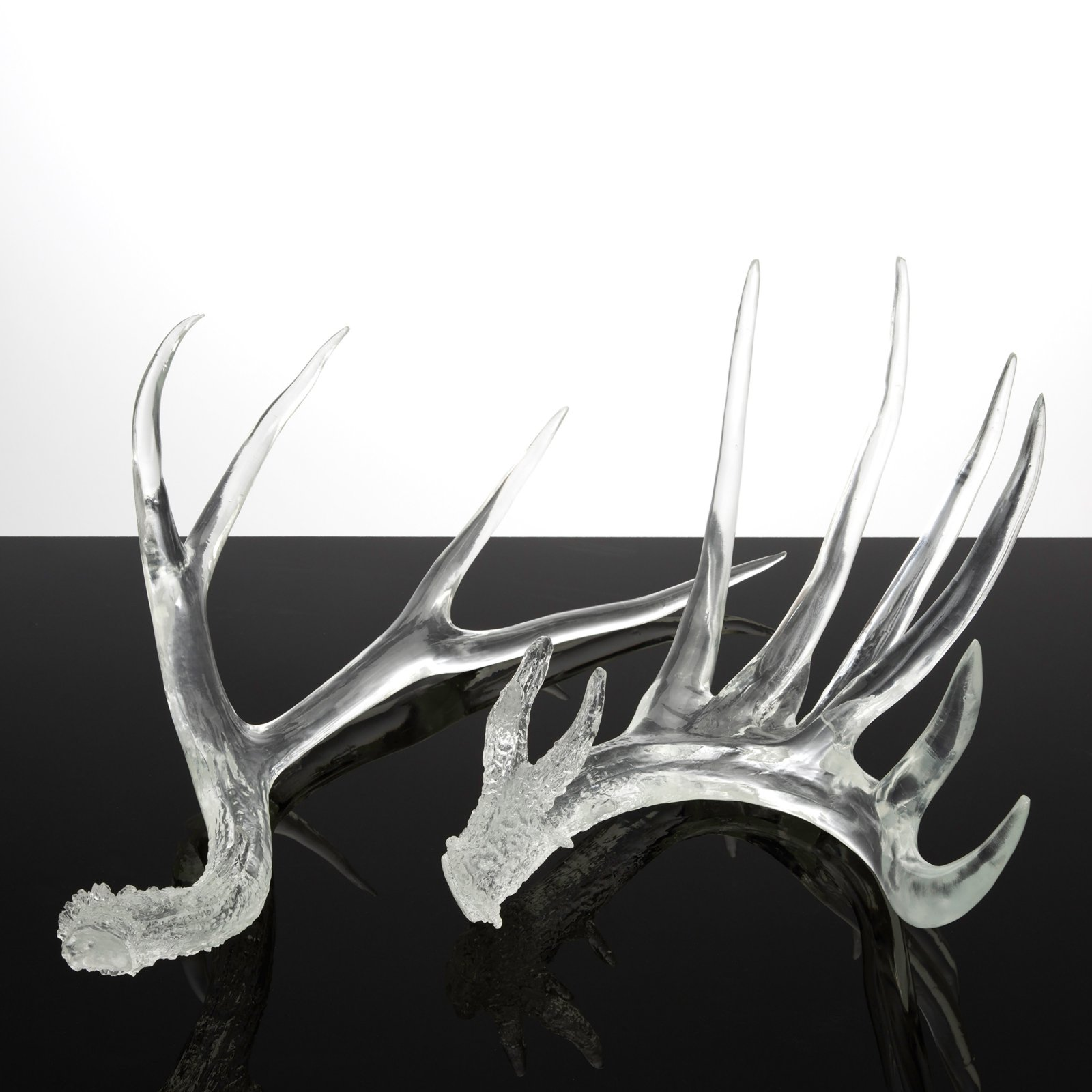 Couture Lamps Clear Deer Antlers - Set of 2