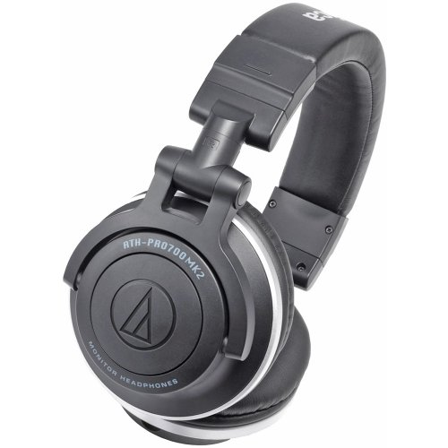 Audio-Technica ATH-PRO700MK2 Headphone - Stereo - Mini-phone - Wired - 38 Ohm - 5 Hz 35 kHz - Gold Plated - Dynamic - Over-the-head - Binaural - Ear-cup - 3.94 ft Cable