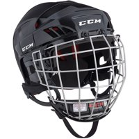 CCM HT50 Hockey Helmet with Cage (Black)