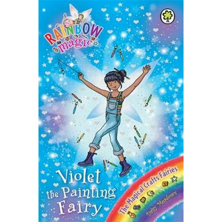 The Magical Crafts Fairies: 145: Violet the Painting Fairy (Rainbow Magic) (Paperback) - Painting Fails