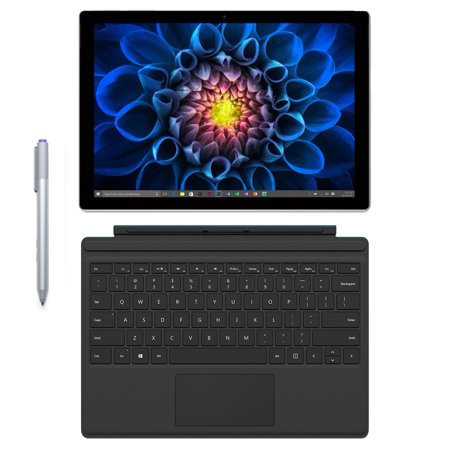 Refurbished Microsoft Surface Pro 4 (256 GB, 8 GB RAM, Intel Core i5, Windows 10) + Microsoft Surface Type Cover