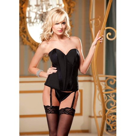 c27f7136e Shirley of Hollywood - Shirley of Hollywood SOH-25991 Corset satin   lycra  Also in plus size Deep Royal   36 - Walmart.com