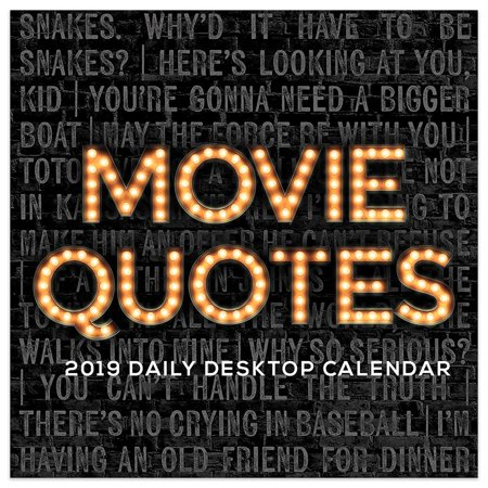 December 2019 Calendar Movies 2019 Movie Quotes 5.5
