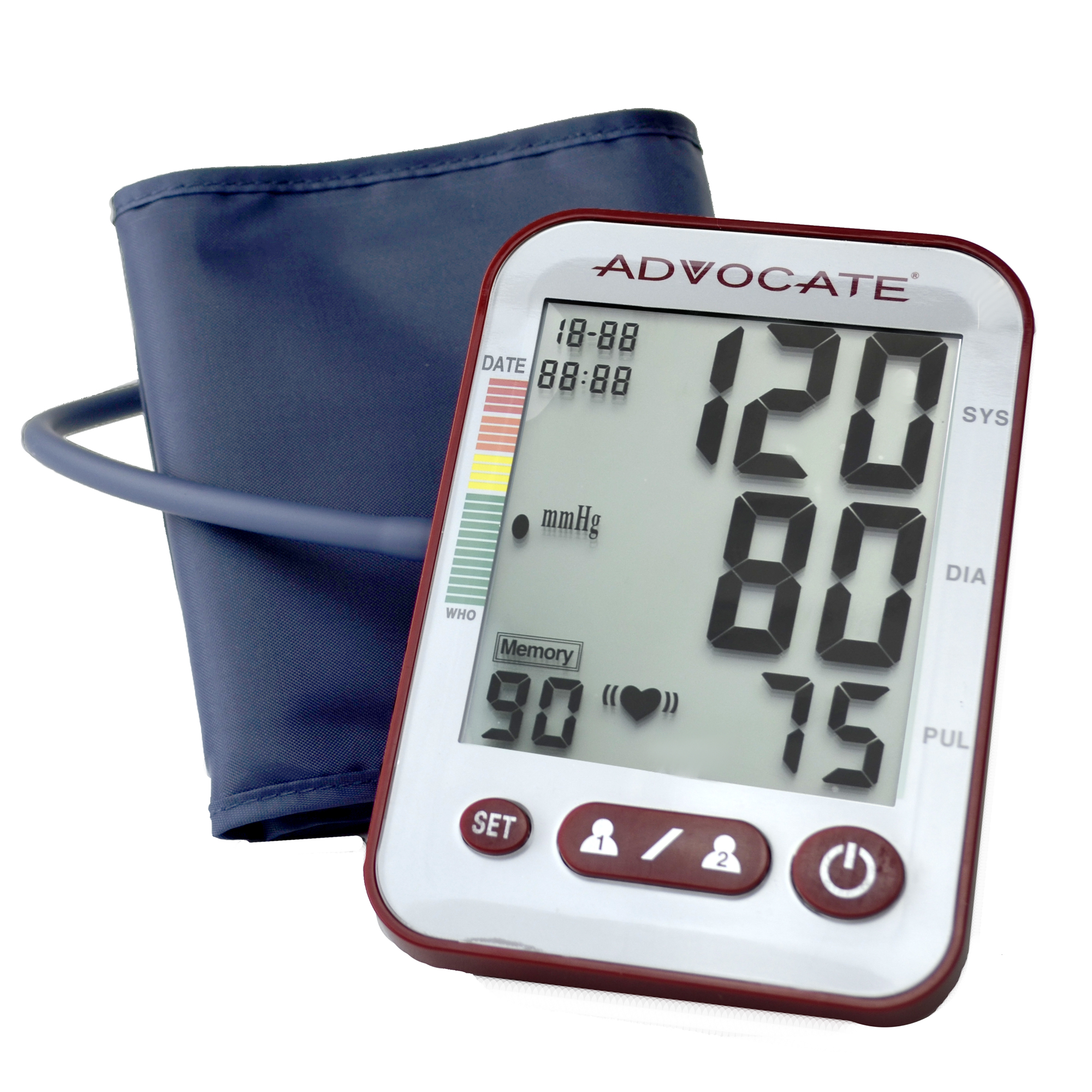 Best Blood Pressure Monitors Extra Large Cuffs - Advocate Upper Arm Blood Pressure Monitor Size Extra Review