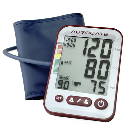 Advocate Upper Arm Blood Pressure Monitor Size Extra