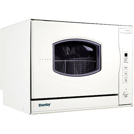 Danby 4-Place Setting Compact Countertop Dishwasher - Walmart.com