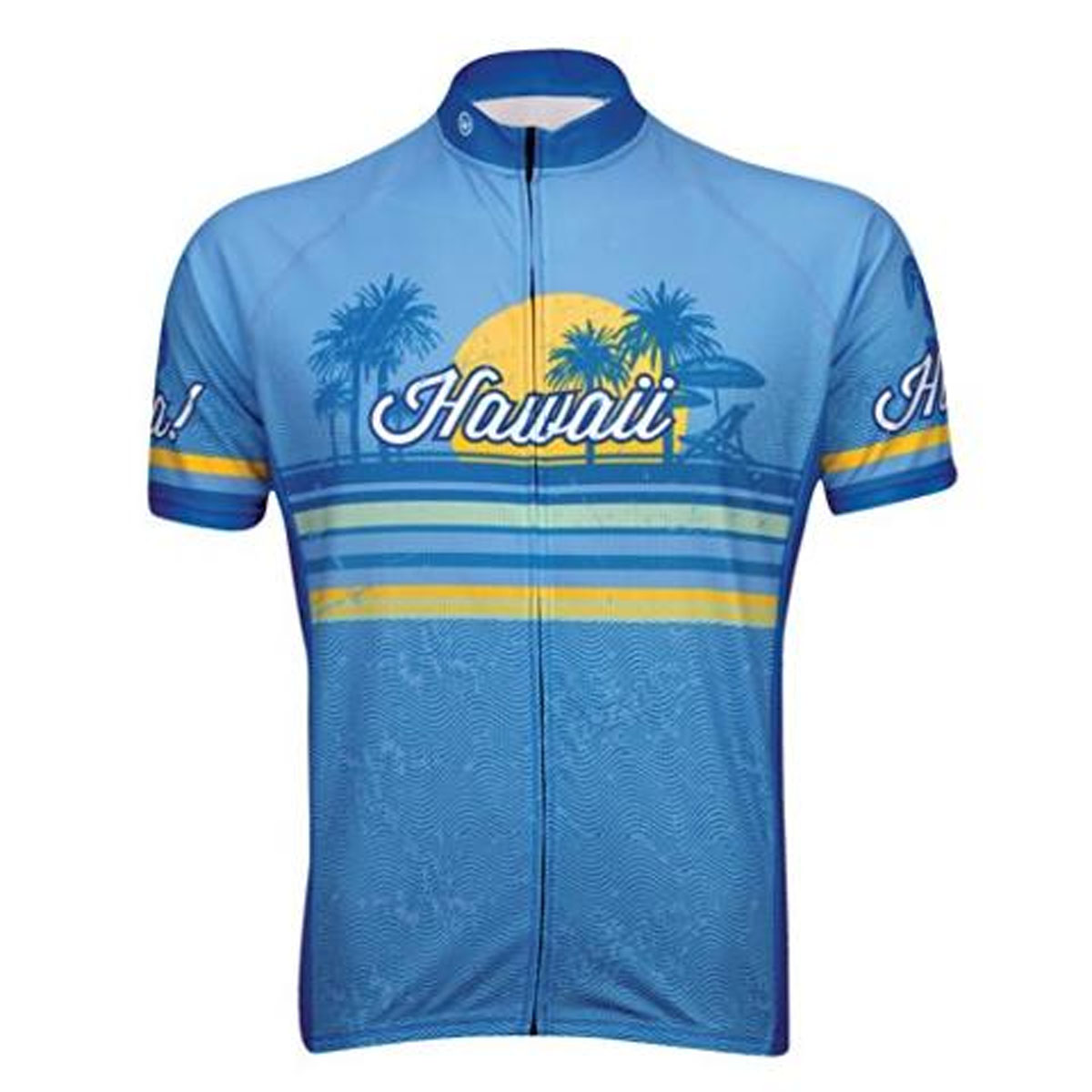 Canari Cyclewear Men's Hawaii Blue Cycling Jersey - 12237