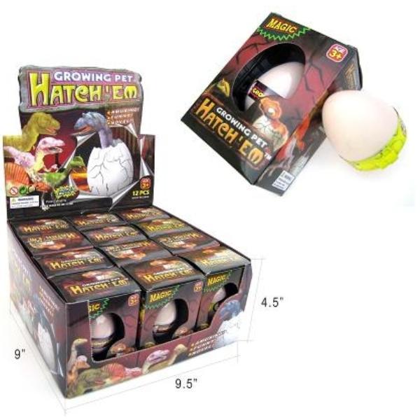 DDI Hatch Em Eggs - Dinosaur (pack Of 144)