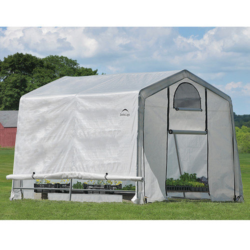 ShelterLogic GrowIt 10 Ft. W x 10 Ft. D Commercial Greenhouse