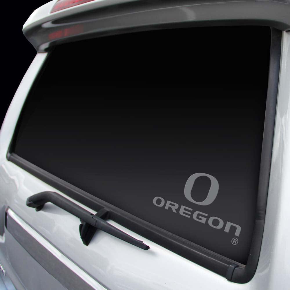 Oregon Ducks Chrome Window Graphic Decal