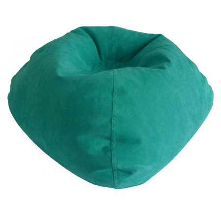 (Large Microsuede Bean Bag, Available in Multiple Colors)
