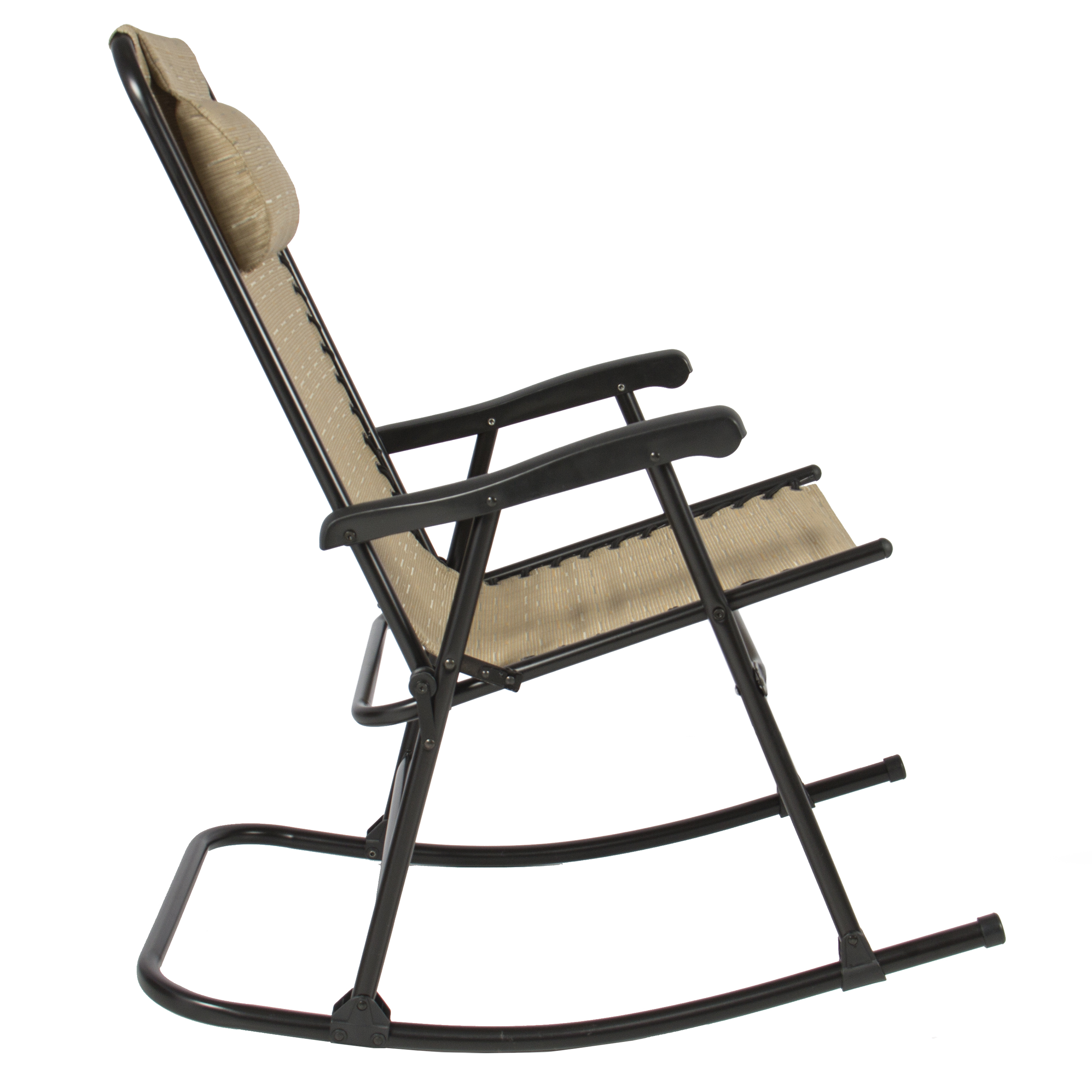 Outdoor furniture all chairs rocking chairs jefferson outdoor rocking - Best Choice Products Folding Rocking Chair Foldable Rocker Outdoor Patio Furniture Beige Walmartcom