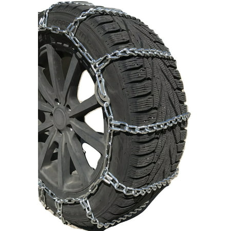 Snow Chains   305/60-18 Boron ALLOY STUDDED Cam Tire Chains Spring Tensioners -  TireChain.com