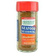 Frontier Blackened Seafood Seasoning, Certified Organic, 2.5 Oz