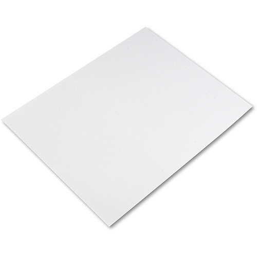 pacon 4ply 28quot x 22quot poster board white 25carton