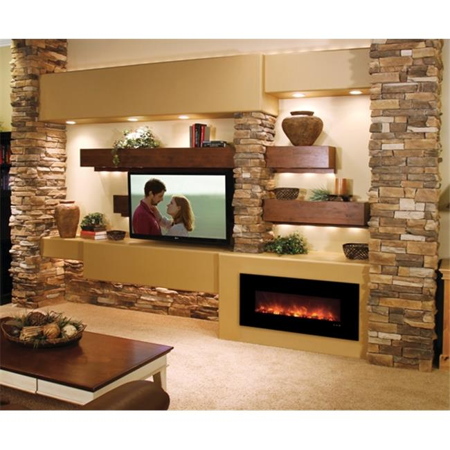 Modern Flames 43 in. Fantastic Flame Electric Recessed & ...