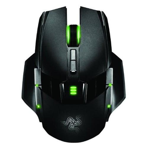 Razer Ouroboros Elite Ambidextrous Wired or Wireless Gaming Mouse 8200 DPI 4G Laser Sensor by Razer