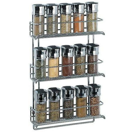 felji 3 tier wall mounted spice rack. Black Bedroom Furniture Sets. Home Design Ideas