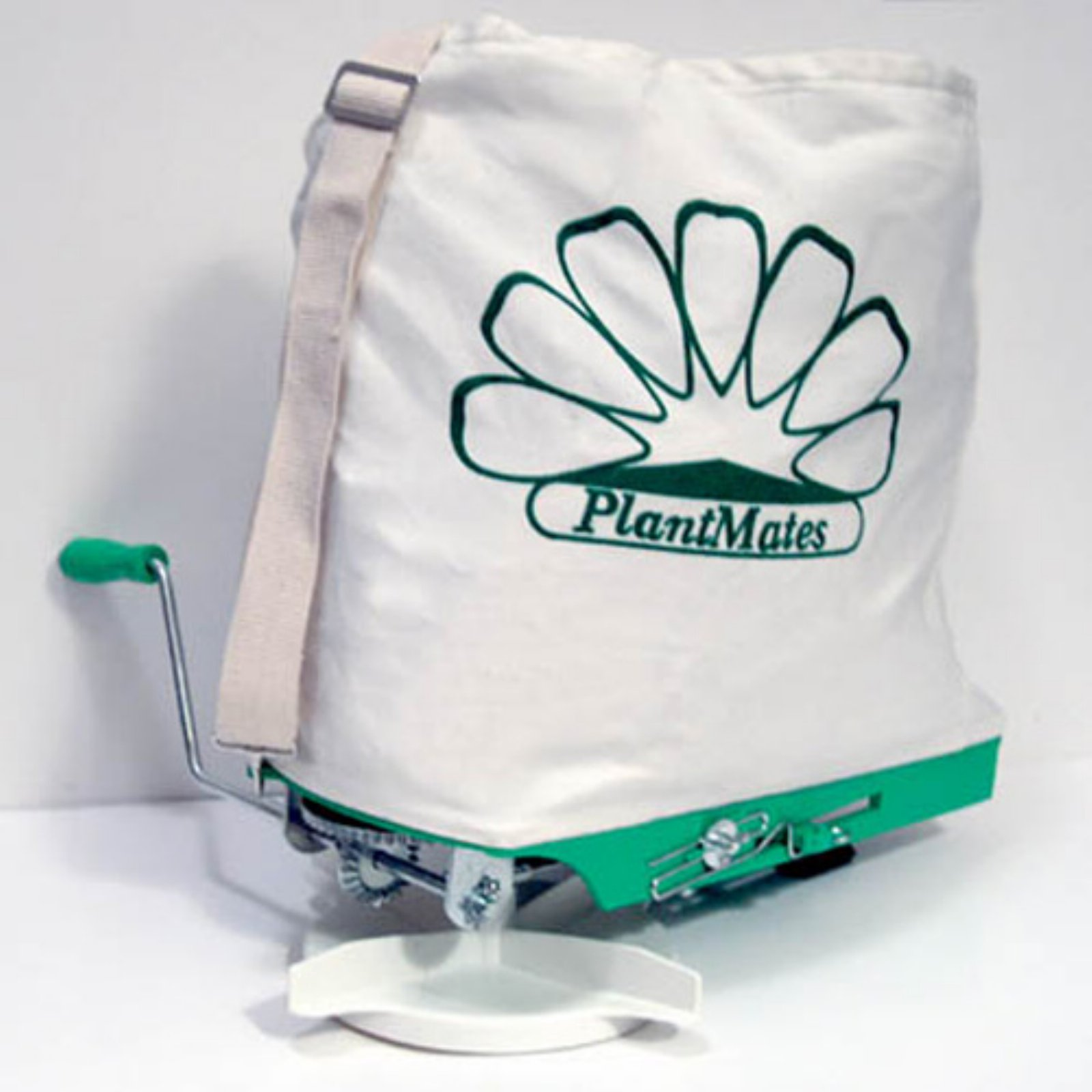 PlantMates Broadcast Spreader With Canvas Bag