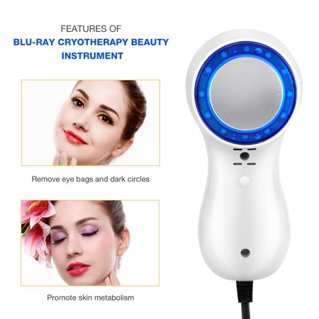Blue-ray Cold Hammer Cryotherapy Ice Healing Facial Beauty Machine Skin  Tighten Shrink Pores , Cryotherapy Facial Beauty Machine, Anti-inflammatory