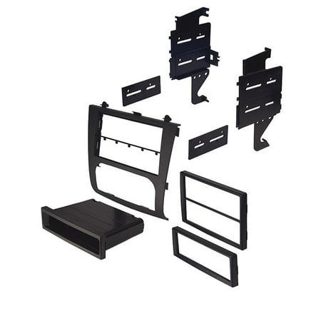 Car Install Kit Stereo Dash Mounting Kit For Nissan 07-14 Altima  - Black