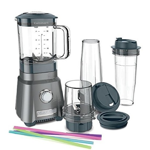 Cuisinart Hurricane Compact Juicing Blender - Black Stainless